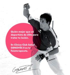 Fisioterapia con Genovés II en Club Salud 24h