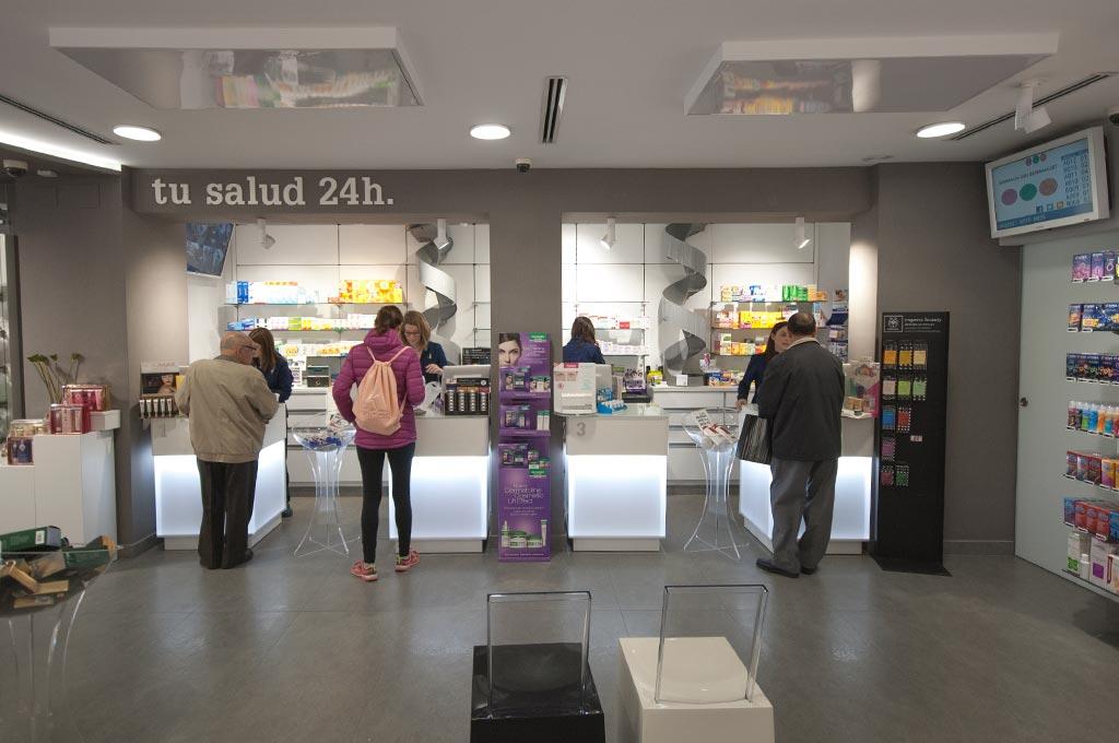 Servicio de turnos automáticos en farmacia