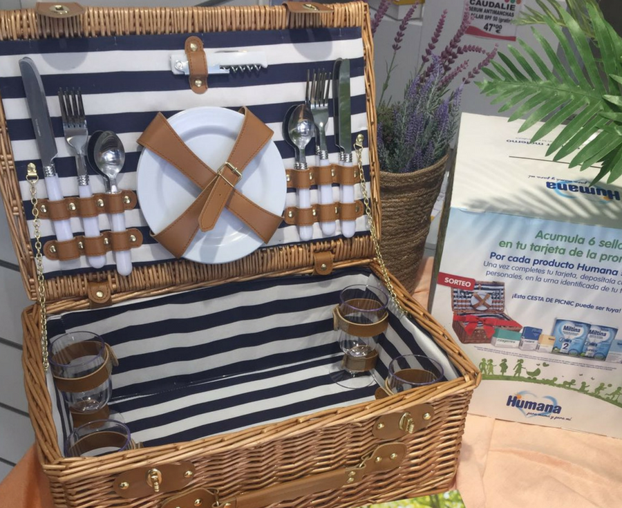 Nuevo sorteo cesta picnic Humana Baby y Club Salud