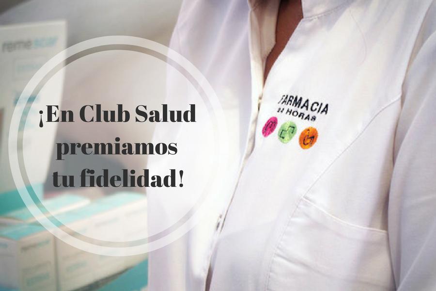 Tarjeta de fidelización de Club Salud 24 horas.
