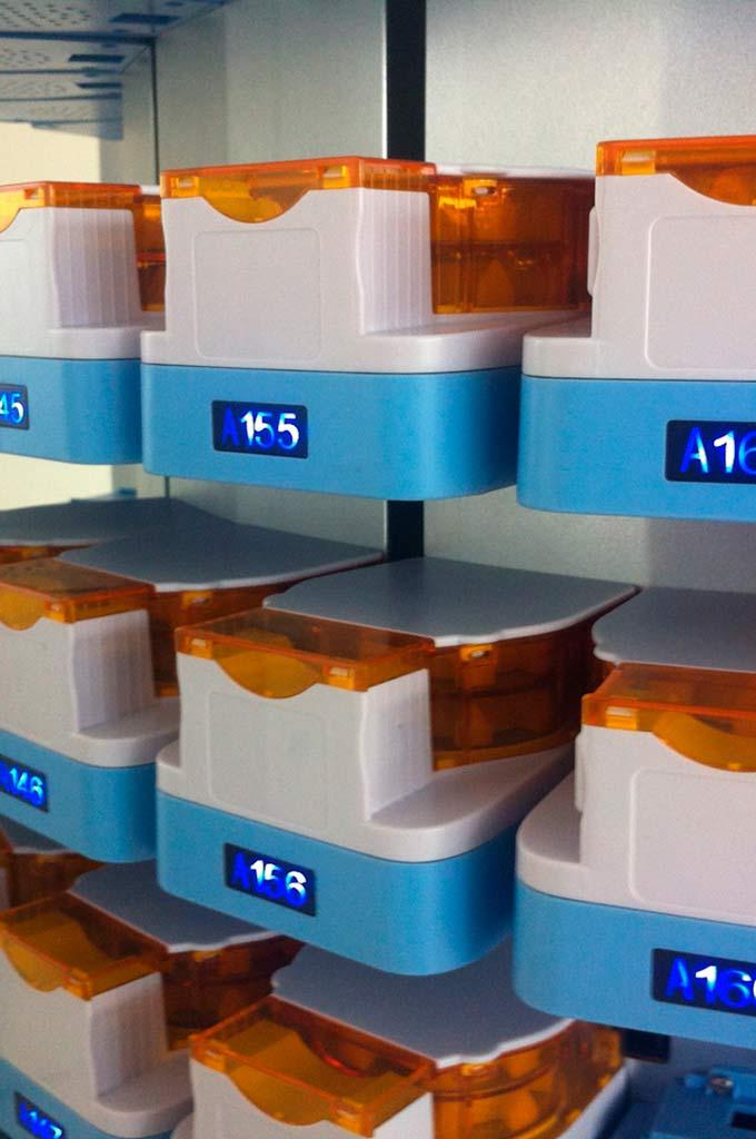 Sistema automático dispensador de fármacos
