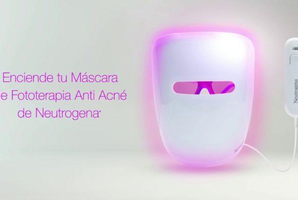 Máscara de Fototerapia anti acné de Neutrogena, en Club Salud 24 horas