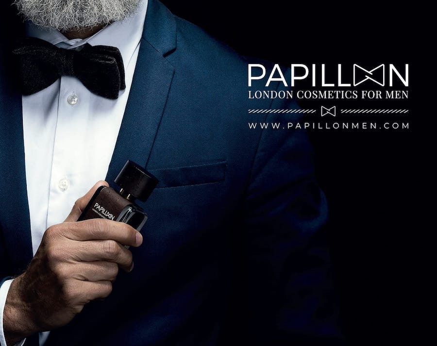 Papillon Cosmetics for Men ya en farmacias Club Salud 24h